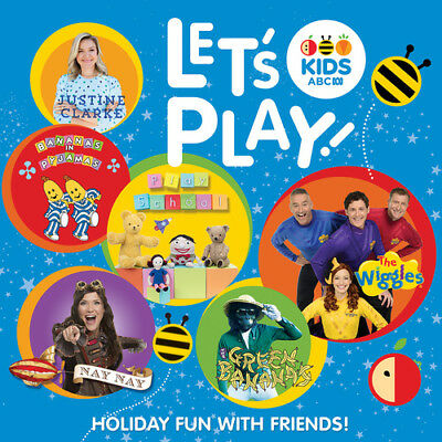 Abc Kids Let's Play Various Artists Cd New