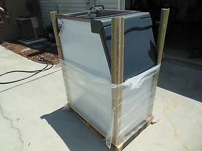 "Scotsman Ice Storage Bin 370lb Capacity Top Hinged 22"" Model B322S. READ LISTING"