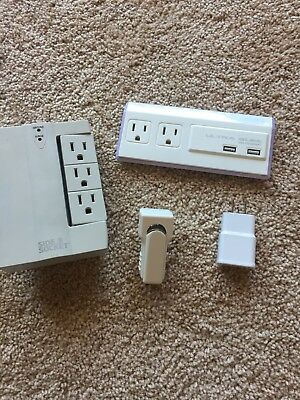 USB Chargers And Wall Power Strips