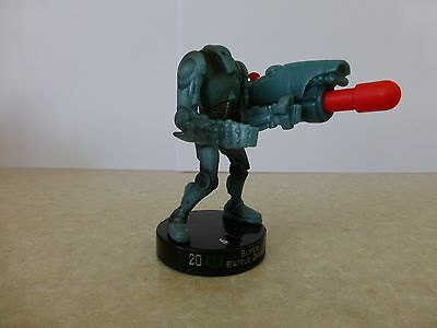 """Attacktix Star Wars Action Figure """"Super Battle Droid"""" - HTF With Missile"""