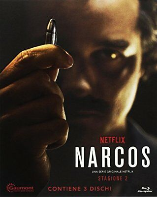 Narcos - Stagione 02 (Special Edition O-Card) (3 Blu-Ray) EAGLE PICTURES