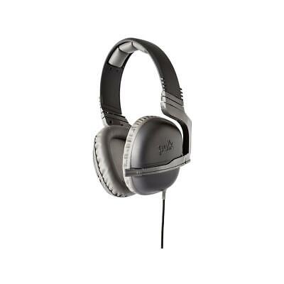 Polk Audio Striker P1 Gaming Over-Ear Headset with Retractable Mic, Gray