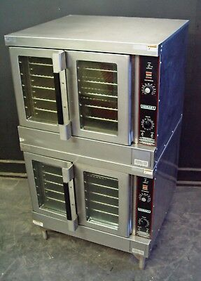 Hobart GAS COMMERCIAL FULL SIZE DOUBLE STACKED CONVECTION OVEN Hobart HGC5X-10