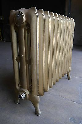 Antique Vintage National Radiator Co. Hot Water or Steam Radiator 11-Fin (SA3)