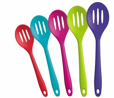 Zeal Silicone 28cm Slotted Spoon - Various Colours