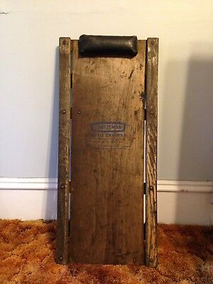 Vintage Craftsman Auto Creeper ROL-EZ-E Wood Car Repair Shop Mechanics Antique