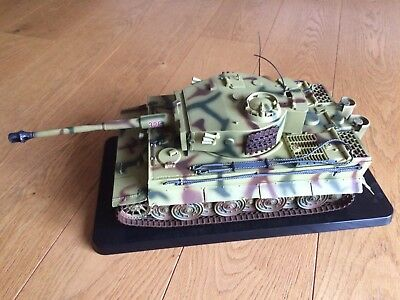 Tank Panzer  Tiger 1 Germany WT317 Metall Modell in OVP 70er Jahre