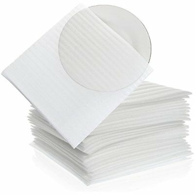 "Foam Wrap Cup Pouches 9 1/8"" X 3/4"" (50 Count), Cushion To Protect Dishes, & For"