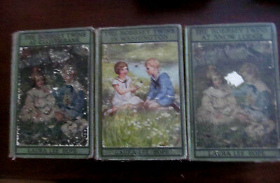 LOT of 3~Vintage BOBBSEY TWINS HB Childs Books 1920s Picture Cover