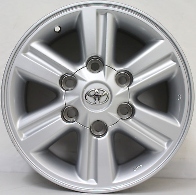 15 inch GENUINE TOYOTA HILUX 2012 4WD SR5 ALLOY WHEELS Also fits Hiace vans