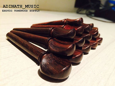 Indian Rosewood Pegs for Violin Viola Oud : Mastergrade Aged Aromatic-100 pieces