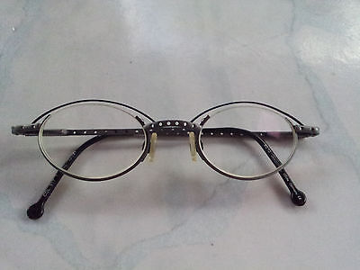 Beautiful Retro Germany MADE by LICEFA Eyeglasses TITAN/BLACK METAL frame