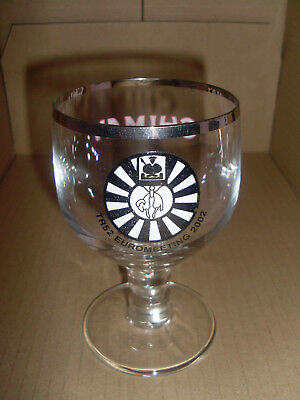 Verre sur pied galopin CHIMAY  TR 52 Eurometing 2002