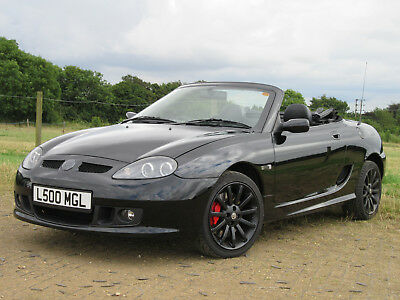 MG LE500 Raven Black 494/500 Limited edition MG 2 seater convertible roadster