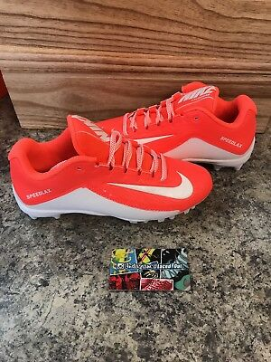 Nike Speedlax 5 Women's Lacrosse Cleats Size 6.5 Hyper Orange/white 807158-811