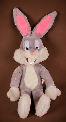 """Bugs Bunny plush doll * 16-20"""" Warner Bros Characters Mighty Star * 1971 Vintage"""