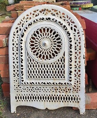 Antique Victorian Cast Iron Fireplace Surround Summer Covers Architectural