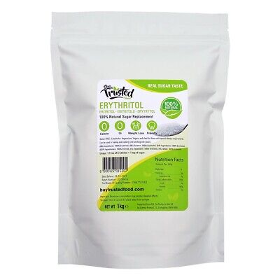 Erythritol - ZERO Calorie 100% Natural Sugar Replacement - The Best UK Deal!