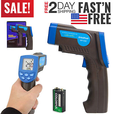 Non-Contact Thermometer Cooking Temperature Gun IR Laser Thermometer Food Meat
