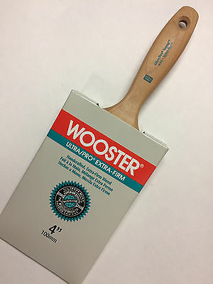 Wooster Brush 4156-4 Ultra/Pro Extra-Firm Jaguar Wall Paintbrush, 4-Inch