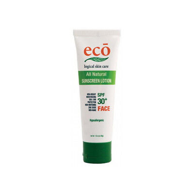 Sunscreen 30+ Face Organic Ethical Cruelty Free Natural Skincare