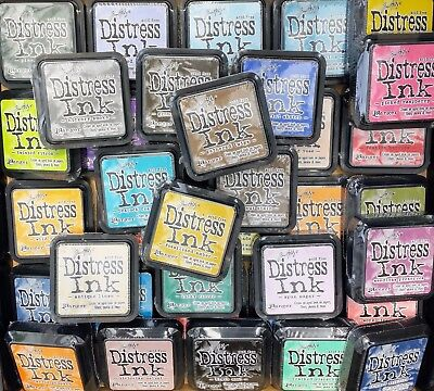 Tim Holtz Distress Ink Pad - 61 Colours - You Choose