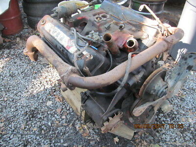 1955 FORD 272 Y BLOCK ENGINE AS PULLED/CORE TO REBUILD Fairlane Crown  Victoria