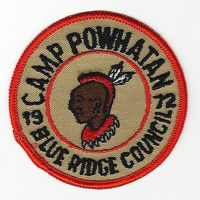 Boy Scout  Camp Powhatan 1972 Pp  Blue Ridge Cncl  Va