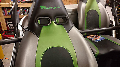 2 SEAT SET Harness Insert Seat Passthrough Bezel RZR UTV Race TERYX TERYX4