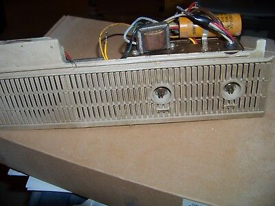 Tube Mono Amp Line Powered 25EH5 Output Tube With Front Panel and Speaker