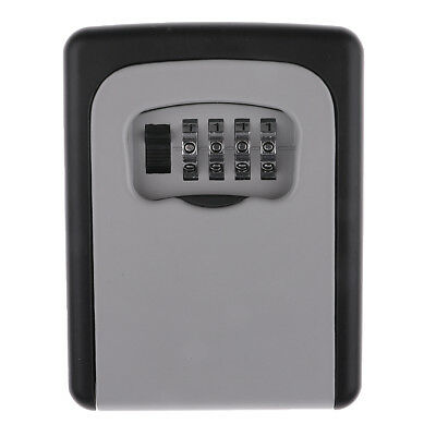 European Style Combination Password Key Card Lock Box Safety Storage Case