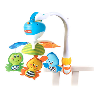 Baby Bed Crib Mobile Infant Musical Toy Hanging Toys Play Set Nursery Decor Blue