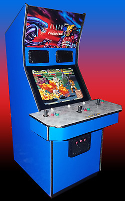 Mini Aliens Vs Predator Arcade Cabinet Collectible Display