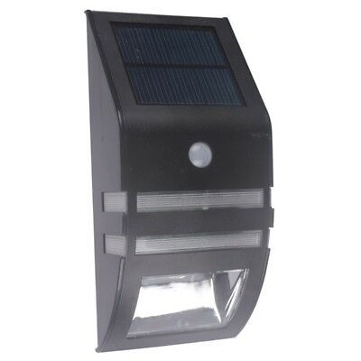 Solar Powered Motion Sensor Super Bright LED Light Garden Wall PIR Lamp
