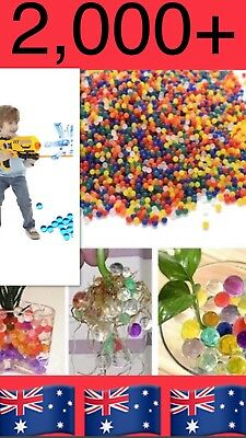 2000+ Orbeez Mixed Colours Crystal Water Plant Beads Bio Hydro Gel Ball 🇦🇺