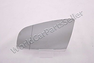 Wing Side Mirror Glass Aspherical LEFT Fits VOLVO 240 740 760 940 1985-1991