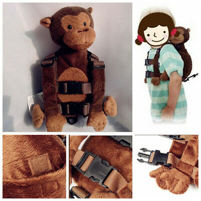 Baby Kid Toddler Keeper Walking Safety Harness Backpack Leash Strap Bags Animal