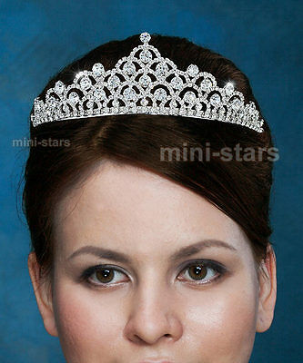 Bridal Wedding Pageant Tiara Prom Accessories use Autrian Crystal AT1528