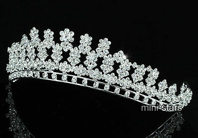 Bridal Wedding Pageant Sparkling Crystal Tiara AT1507