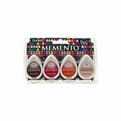 Tsukineko Memento Arizona Canyons Dew Drop 4 pack Ink Stamp Pads