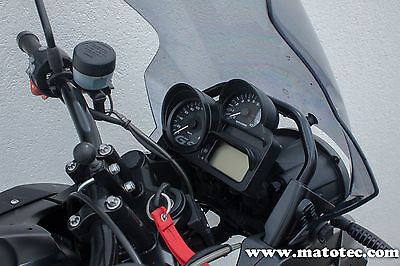 BMW R 1200 GS adventure hp 2 s r 1300 k tacho blende Sun Shade cover schwarz