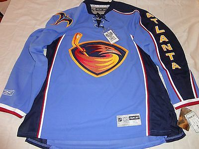 ... best price reebok authentic premier 2.0 atlanta thrashers jersey xl nwt  new winnipeg jets 32c82 27b18 b2f3f7a67