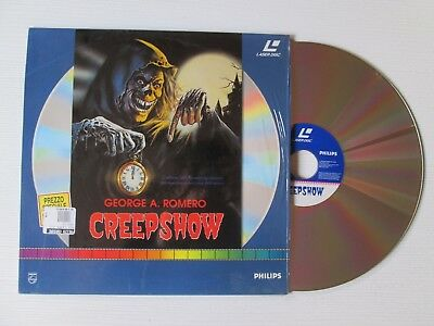 GEORGE A. ROMERO Creepshow LASERDISC FILM MOVIE ITALY RARE!