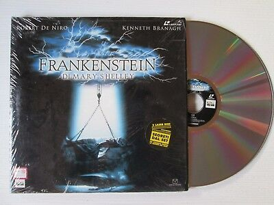 KENNETH BRANAGH Frankenstein 2 X LASER DISC ITALY FILM MOVIE ROBERT DE NIRO