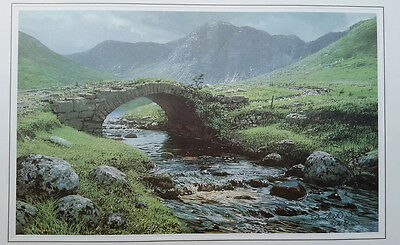 Peter Ellenshaw, Cronaniy Burn, Bridge, Derryveagh Mountains, Donegal