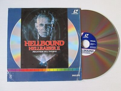 TONY RANDEL Hellraiser II 2 Hellbound LASERDISC HORROR MOVIE FILM CULT
