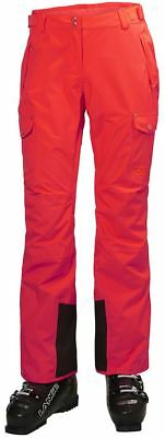 Helly Hansen Switch Womens Cargo Pants 2018 Neon Coral