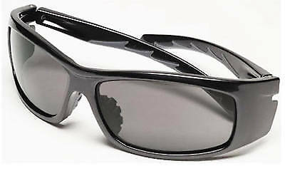 SAFETY WORKS LLC - Nuevo Wrap Gray-Tint Safety Glasses