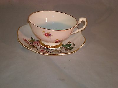 Crownford Cup & Royal Dover Saucer Fine Bone China Made In England