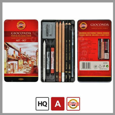 Koh-I-Noor 8890, Art Sets - Gioconda Professianal Art Set 10pcs